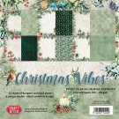 "Craft & You 12""x12"" Paper Pack - Christmas Vibes (12 sheets)"