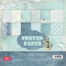 "Craft&You 12""x12"" Paper Pack - Frozen (12 sheets)"