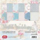 "Craft & You 12""x12"" Paper Pad - Pastel Wedding (12 sheets)"