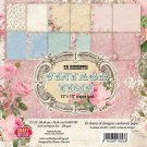 "Craft & You 12""x12"" Paper Pad - Vintage Time (12 sheets)"