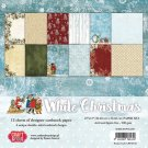 "Craft&You 12""x12"" Paper Pack - White Christmas (12 sheets)"
