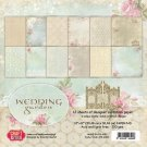 "Craft & You 12""x12"" Paper Pad - Wedding Garden (12 sheets)"