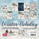 "Craft&You 12""x12"" BIG Paper Set - Winter Holiday (12 sheets)"