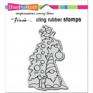 Stampendous Cling Stamps - Gnome Tree
