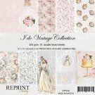 "Reprint 12""x12"" Collection Pack - I do Vintage Collection (10 sheets)"