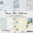 "Reprint 12""x12"" Collection Pack - Dusty Blue (10 sheets)"