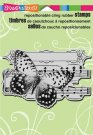 Stampendous Cling Rubber Stamp - Butterfly Tune