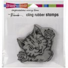 Stampendous Cling Stamps - Cat Attack