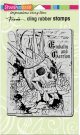 Stampendous Cling Stamp - Crowned Skull