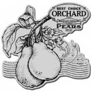 Stampendous Cling Stamp - Pear Label