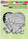 Stampendous Cling Rubber Stamp - Cherish Heart