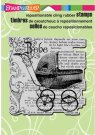 Stampendous Cling Rubber Stamp - Baby Elements