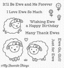 My Favorite Things - Ewe and Me Forever Clear Stamps
