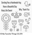 My Favorite Things - Beautiful Day Clear Stamps