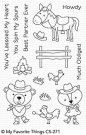 My Favorite Things - Best in the West Clear Stamps