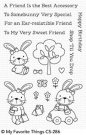 My Favorite Things Clear Stamp Set - Sweet Somebunny