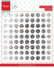 Marianne Design Clearstamp - Tinys Background Distressed Dots