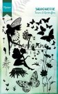 Marianne Design Clear Stamps - Silhouette Fairies & Butterflies