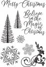 Kaisercraft Clear Stamps - Let It Snow
