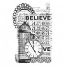 Kaisercraft Vintage Collection Clear Stamp - Believe