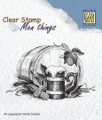 Nellie's Choice Clearstamp - Men Things Beer