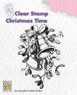 Nellies Choice Clearstamp - Christmas Time Christmas Bells