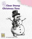 Nellies Choice Clearstamp - Christmas Time Snowman