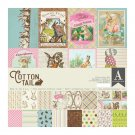 "Authentique 12""x12"" Collection Kit - Cottontail (17 sheets)"