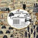 "Decorer 6""x6"" Paper Pack - Gentlemen (24 sheets)"