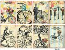 Decorer Bicycle Paper Pads (7x10.8cm)