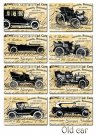 Decorer Old Car Paper Pack (7x10.8cm)