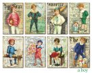 Decorer A Boy Paper Pack (7x10.8cm)
