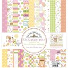 "Doodlebug 12""x12"" Double-Sided Paper Pack - Bundle Of Joy (13 sheets)"