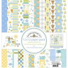 "Doodlebug 12""x12"" Double-Sided Paper Pack - Special Delivery (13 sheets)"