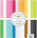 "Doodlebug Petite Prints 12""x12"" Paper Pack - So Much Pun (12 sheets)"