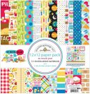 "Doodlebug 12""x12"" Paper Pack - So Much Pun (12 sheets)"