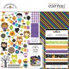 "Doodlebug 12""x12"" Essentials Page Kit - Pumpkin Party"