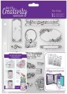 Docrafts A5 Clear Stamp Set - Musicality (14 stamps)