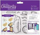 Docrafts A6 Clear Stamp Set - Mister (11 stamps)