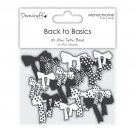 Dovecraft Back to Basics Monochrome - Mini Bows