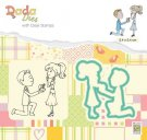 Nellies Choice DADA Die & Clear Stamp - Marriage Proposal of Marriage
