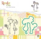 Nellies Choice DADA Die & Clear Stamp - Marriage Kissing