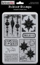 Darkroom Door Unmounted Rubber Stamp Set - Doors