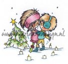 Marianne Design Clearstamp - Don & Daisy A Christmas Romance