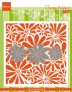 Marianne Design Embossing Folder Extra - Daisies