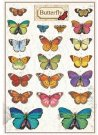 Stamperia A5 Pre-Cut Adhesive Labels - Butterfly