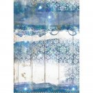 Stamperia A4 Rice Paper Sheet - Romantic Sea Dream Texture