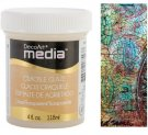 DecoArt Media Crackle Glaze - Clear (118ml)