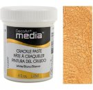 DecoArt Media Crackle Paste - White (118ml)