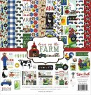 "Echo park 12""x12"" Paper Collection Kit - Down On The Farm (13 sheets)"
